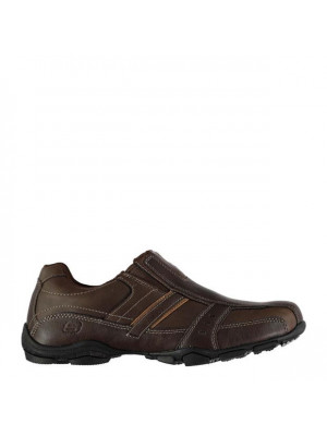 Casual Slip On Shoes Mens Brown 8 (42)