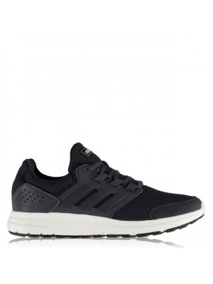 Galaxy 4 Mens Cloudfoam Trainers Navy Navy Wht 11 (46)