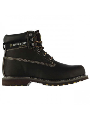 Nevada Mens Steel Toe Cap Safety Boots Brown 7 (41)