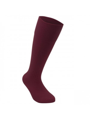 Football Socks Mens Plus Size Maroon Mens 12+