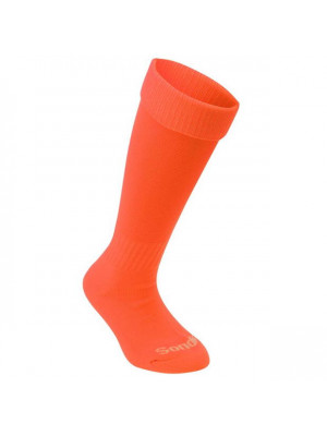 Football Socks Mens Plus Size Fluo Orange Mens 12+