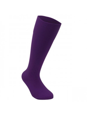 Football Socks Mens Plus Size Purple Mens 12+