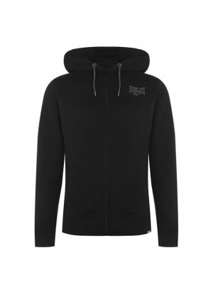 Zip Hoody Mens Black Medium