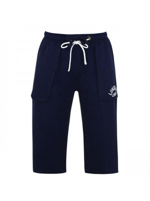 Box  three quarter Jogging Bottoms Mens Navy Large