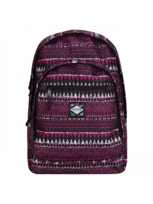 Print Backpack Pink Tribal One Size