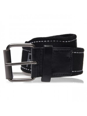 Texted Belt Black One Size
