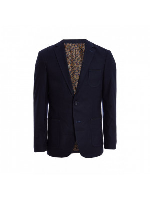 Navy Patch Pocket Blazer