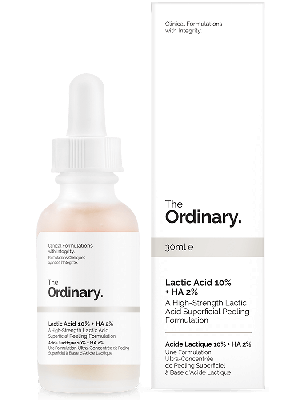 Lactic Acid 10% + HA 2% Peeling Formulation