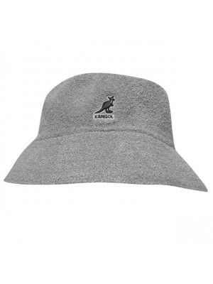 Kangol Boucle Bucket Hat - Grey