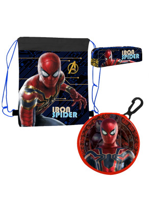 Official Iron Spiderman 3 Piece set