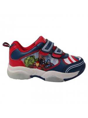 Character Kids Light Up Trainers - Avengers