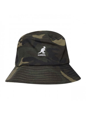Kangol Stripe Bucket Hat - Camo