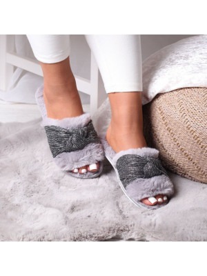 MILLIE - Rose Gold Metallic Open Toe Block Heel With Ankle Strap And Buckle Detail