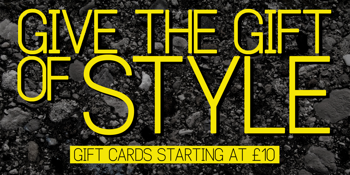 Give the gift of style - gift cards from £10