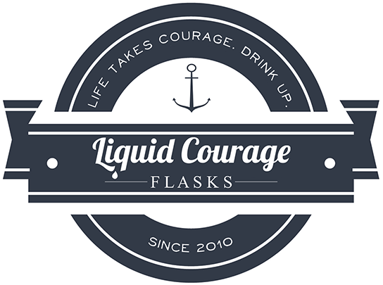 Liquid Courage Flasks logo